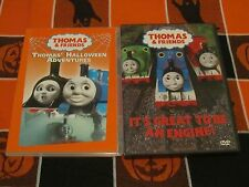 THOMAS & FRIENDS~THOMAS' HALLOWEEN ADVENTURES + IT'S GREAT TO BE AN ENGINE 2 DVD
