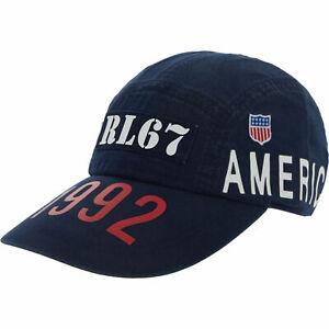 Polo Ralph Lauren Indigo Stadium Denim Long Bill Cap | P Wing Stadium 1992 S/M