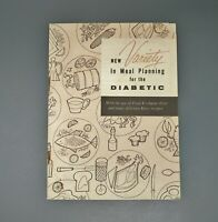 1955 New Variety In Meal Planning For The Diabetic Knox Gelatine Book Pamphlet