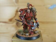 PLASTIC WARHAMMER CHAOS TERMINATOR LORD KHORNE WELL PAINTED (4271)