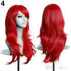 EG_ Womens Lady Long Hair Wig Curly Wavy Synthetic Anime Cosplay Party Full Wigs