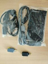 Genuine Lenovo ThinkPad and IdeaPad 90W Slim AC/DC Combo Adapter Laptop Charger