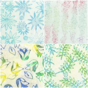 Patchwork Quilt Stoff - Anthology Batik Pastell verschiedene (19,- €/m)