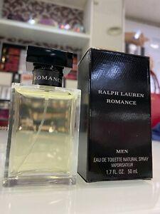 """ROMANCE""  Ralph Lauren  PROFUMO MEN edt 50 ml vapo NUOVO (raro)"