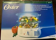 NEW!  Oster 5711  Food Steamer  6.1 Qt Vegetable Cooker - NIB   Smoke-Free Home