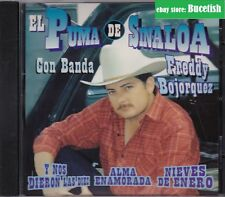 El Puma de Sinaloa Con Banda Freddy Bojorquez CD New Nuevo sealed