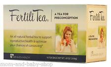 FAIRHAVEN HEALTH FERTILITEA NATURAL FERTILITY ENHANCING TEA BLEND VITEX x16 BAGS