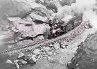 Colorado & Southern (C&S) Engine 10 near Jefferson City in 1909 - 8x10 Photo