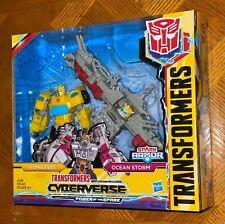 Transformers Cyberverse Power of the Spark Bumblebee & Ocean Storm Figure Set