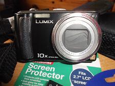 Panasonic LUMIX DMC-TZ5 9.1MP Digital Camera - Black V.G.C.