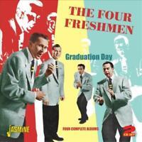 THE FOUR FRESHMEN - GRADUATION DAY: FOUR COMPLETE ALBUMS NEW CD