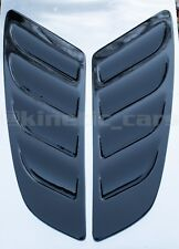 Mustang style ABS plastic bonnet vents universal ford audi rs focus fiesta corsa