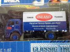 Imex 1:87 Scale Die Cast Cab Over Box Truck Inland Tires And Tubes