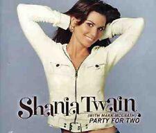 Shania Twain Party RARE TRX & VIDEO CD w/ ALISON KRAUSS & BILLY CURRINGTON SEALD