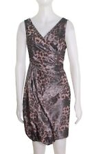 NEW MOSCHINO Cheap and Chic LEOPARD PRINT DRESS SIZE 6 $605 ITALY NORDSTROM