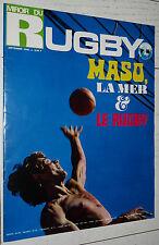 MIROIR RUGBY N°96 1969 ALL BLACKS NZ JO MASO LOURDES GACHASSIN ROQUES TOULOUSE
