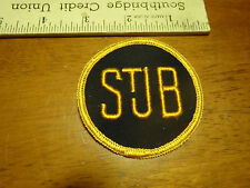 STUB TICKET PATCH TICKET ADVERTISEMENT SEW ON PATCH   BX K 30