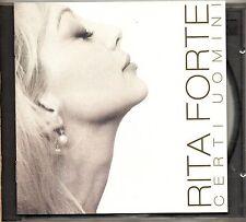 RITA FORTE CD fuori catalogo CERTI UOMINI stampa ITALIANA 1996