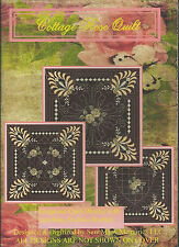 NEW! COTTAGE ROSE QUILT for Husqvarna Viking & most home Embroidery Machines