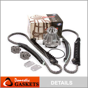 03-11 Ford Lincoln Mark LT 5.4L SOHC Timing Chain Water Pump Kit without gears
