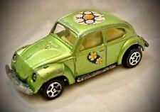 Vintage 1969 CORGI Juniors - Whizzwheels VOLKSWAGEN 1300 Beetle - Green 1/64