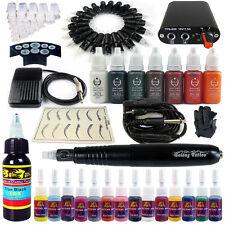 Solong Tattoo Machine Tatouage Kit Hy-brid stylo 2-en-1 Maquillage encre EK101-1