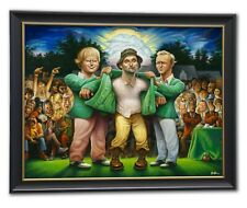 The Green Jacket. A Tribute to Carl Spackler and 1980 Giclée Framed Print
