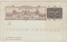 Rep.of Guatemala,C.A.Postal Stationery,Pre-Printed 12 Ct.Guatemala Stamp,c.1904
