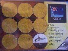 Wizkids Pirates of the Caribbean #074 Gun / Mullroy CSG