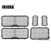 Metal Stereoscopic Window Mesh Protective Net for 1/10 RC Traxxas TRX4 Defender
