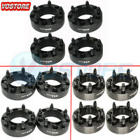 (4) 5x150 Black Hub Centric Wheel Spacers 14x1.5 studs for Toyota Sequoia Tundra