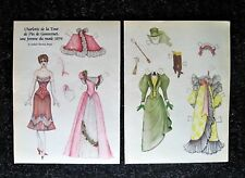 Doll Reader Magazine Paper Doll/1894 French Paper Doll By Robrt Thomas Boyd