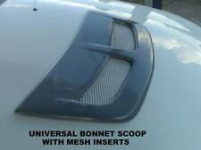 UNIVERSAL EVO STYLE BONNET SCOOP WITH MESH