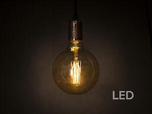 LED E27 bulbs various finishes