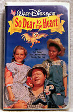 Walt Disney's So Dear to My Heart (VHS, 1992) Starring Burl Ives