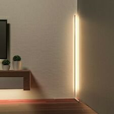 Minimal LED Corner Floor Lamp - Warm White Dimmable - UK Next Day