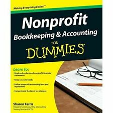 Nonprofit Bookkeeping and Accounting for Dummies - DIGITAL FORMAT