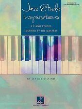 Jazz Etude Inspirations Book *NEW* Sheet Music, Intermediate