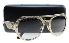 New Versace Sunglasses Women Aviator VE 2175 Gold 125211 VE2175 60mm