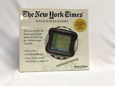 The New York Times Touch Screen Sudoku Excalibur Electronics Inc Handheld Game