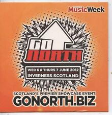 Various Artists - Music Week Presents Go North Inverness 2012 (12 Trk Promo CD)