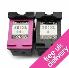 301XL Black & Colour Ink Cartridges for HP Envy 5530 5532 5539 e-All-in-One
