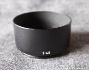 Canon steel lens hood T-42 for lens