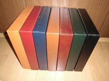 SAFE Kassette Skai / Yokama Ringbinder (14 Ringe), verschiedene Farben, Schuber