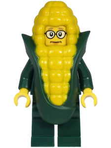 NEW LEGO Mayor Fleck Corn Cob Costume FROM SET 60271 TOWN CITY (cty1222)