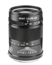 HANDEVISION IBERIT 90mm f/2.4 LENS, SONY FE-MOUNT/FULL-FRAME A7 A7R A7II A7RII