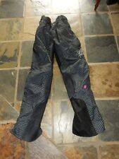 Girls FOX Motor Bike Pants Size 5/6 With Removable Side Protectors