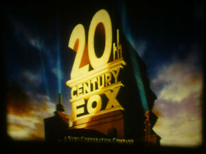 """Super 8mm color sound 1x50'' """"THE NEW 20TH CENTURY FOX OPENING ( SCOPE & FLAT)"""