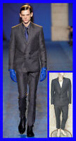 FALL/WINTER 2011 look # 32 BRAND NEW VERSACE GRAY SUIT 48 - 38 (M)