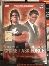 Dvd Crime Task Force - La Vendetta Del Mercenario Nuovo (leggi Per Spedizione)